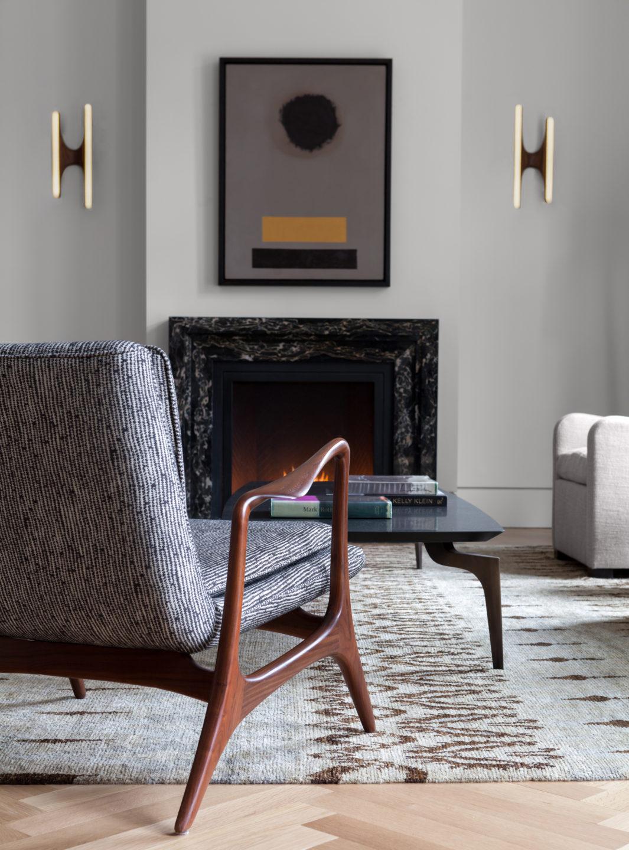 Living Room midcentury chair detail